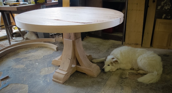 """Texas """"Round-Up"""" Table"""
