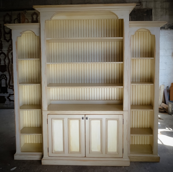 Gorgeous Custom Bookcase…