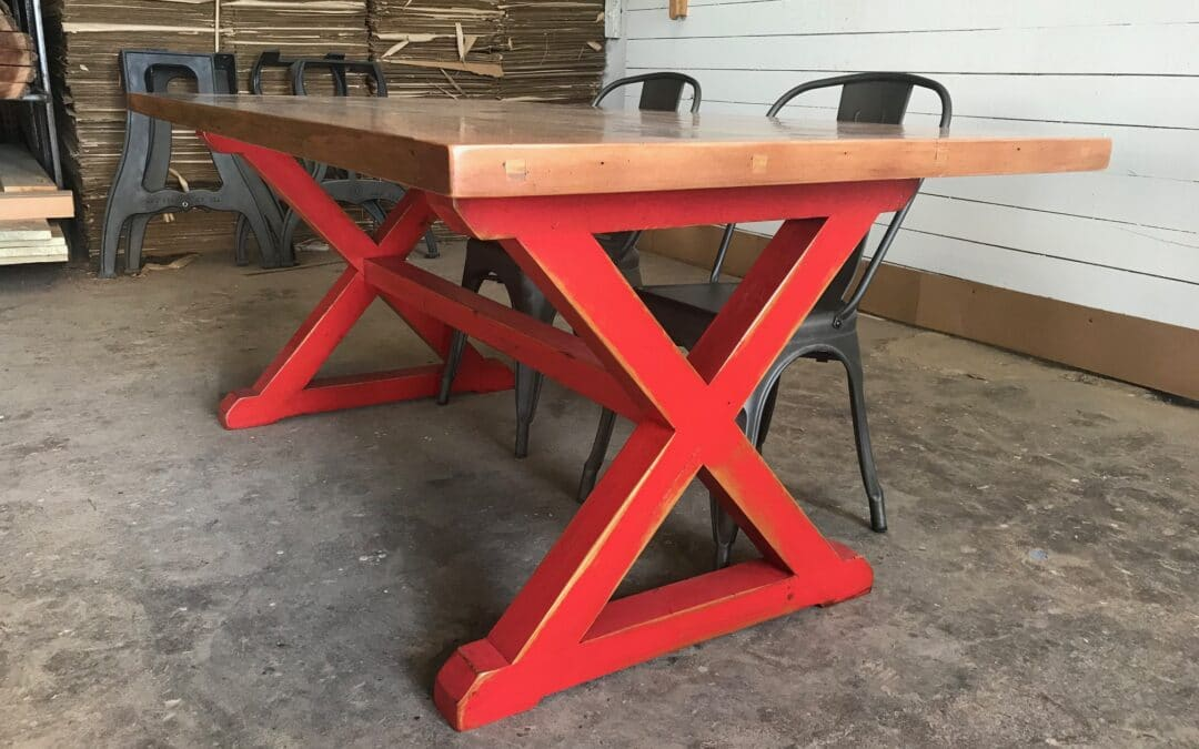 X Style Table Base
